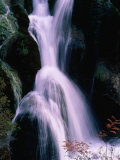 Waterfall in the Nine Village Valley, Jiuzhai Gou, China Photographic Print by Keren Su