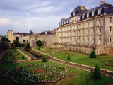 Chateau and Gardens at Vannes, Vannes, Brittany, France Photographic Print by Diana Mayfield