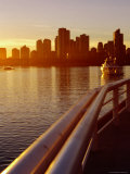 False Creek at Sunset from Science World, Vancouver, Canada Photographic Print by Ryan Fox
