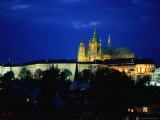 Historic Prague Castle or Hradcany Castle, Prague, Central Bohemia, Czech Republic Photographic Print by Jan Stromme