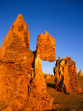 Eroded Pinnacles Near Cervantes, Nambung National Park, Australia Photographic Print by Wayne Walton