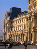 Louvre Museum and Smaller Pyramid, Paris, Ile-De-France, France Photographic Print by Jan Stromme