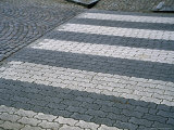 Pedestrian Crossing on Bredgatan, Lund, Skane, Sweden Photographic Print by Martin Lladó