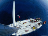 Sailing in the Bahamas, Bahamas Photographic Print by Greg Johnston