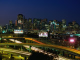 City Skyline, San Francisco, California, USA Photographic Print by Brent Winebrenner