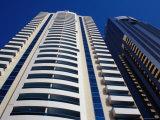 High-Rise Buildings on Sheikh Zayed Road, Dubai, United Arab Emirates Photographic Print by Tony Wheeler