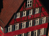 Historic Building Facade, Tubingen, Baden-Wurttemberg, Germany Photographic Print by Thomas Winz