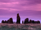 Ales Stenar (Ale Stones) Near the Village of Kaseberga, Skane, Sweden Photographic Print by Anders Blomqvist