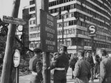 Accentuating the Division, Post-War Berlin, c.1948 Print by Jack Chitham
