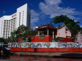 Tu Pek Kong Chinese Temple, Kuching, Sarawak, Malaysia Photographic Print by Jane Sweeney
