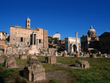 Roman Forum Ruins in the Early Morning, Rome, Italy Photographic Print by Martin Moos