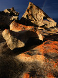 Detail of Remarkable Rocks, Flinders Chase National Park, Australia Photographic Print by Paul Sinclair