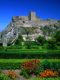 Gardens and Castelo of Marvao, Marvao, Portugal Photographic Print by Anders Blomqvist