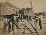 Military Railroad Operations in Northern Virginia, c.1862 Prints by Andrew J. Johnson