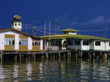 Campung Ayer Stilt Houses, Bandar Seri Begwan, Brunei Photographic Print by Jane Sweeney