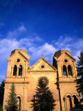 St Francis Cathedral (1896), Santa Fe, New Mexico, USA Photographic Print by Mark Newman