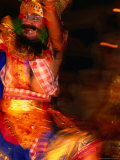 Sunda Upasunda Dance Performed at Ubud Palace, Blur, Ubud, Indonesia Fotografisk tryk af Paul Beinssen