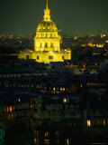 Napoleon's Tomb, in Eglise Du Dome of Hotel Des Invalides, at Night Paris, France Photographic Print by John Hay