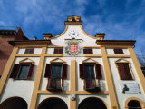 Town Hall in Central Neive, Langhe District, Neive, Italy Photographic Print by Martin Moos