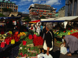 Hotorget Market, Stockholm, Sweden Photographic Print by Anders Blomqvist