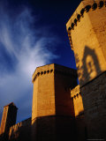 Detail of Porta Reial, Monestir De Poblet, Spain Photographic Print by Damien Simonis
