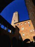 Palazzo Del Popolo and Its Torre Grossa, San Gimignano, Italy Photographic Print by Damien Simonis