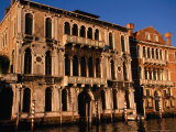 Contarini Dal Zaffo and Brandolini Rota Palaces on Grand Canal, Venice, Veneto, Italy Photographic Print by Roberto Gerometta