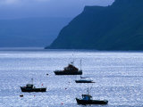 Fishing Trawlers in Portree (Port Righ), Isle of Skye, Scotland Photographic Print by Grant Dixon