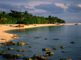 Pulau Selingan Beach in Turtle Islands National Park., Sabah, Malaysia Photographic Print by Mark Daffey