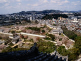 City from Himeji-Jo Castle, Himeji, Japan Photographic Print by Martin Moos