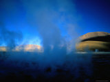 Steam Rising from One of the El Tatio Geysers, El Tatio Geysers, Chile Photographic Print by Aaron McCoy
