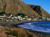 Coastal Fishing Village In Wairarapa Region, Ngawi, Wellington, New Zealand Lámina fotográfica por Paul Kennedy