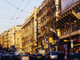 Traffic on La Canebiere, Marseille, France Photographic Print by Jean-Bernard Carillet