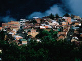 Exterior of Houses, La Paz, Bolivia Photographic Print by Woods Wheatcroft