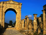 Archway at Roman Ruins, Tyre, Lebanon Photographic Print by Bethune Carmichael