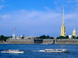 Neva from Troisky Bridge, St. Petersburg, Russia Photographic Print by Jonathan Smith