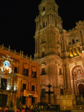 Cathedral with Palacio Episcopal, Malaga, Spain Photographic Print by Martin Moos