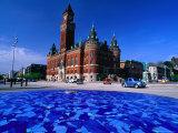 Helsingborg Radhuset or City Hall, Helsingborg, Skane, Sweden Photographic Print by Anders Blomqvist