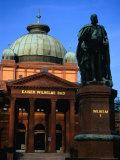 Kaiser Wilhelms Bath and Statue, Frankfurt-Am-Main, Germany Photographic Print by Martin Moos