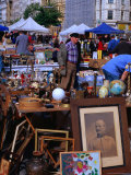 Flea Market at Naschmarkt, Wieden, Vienna, Austria Photographic Print by Richard Nebesky