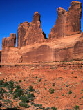 Rock Formation Known as &quot;Park Avenue&quot; Arches National Park, Utah, USA Photographic Print by Barnett Ross