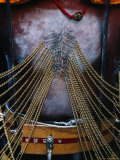 Detail of Pierced Body of Hindu Devotee at Thaipusam Festival, Singapore Photographic Print by Richard I'Anson