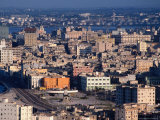 High Angle View Over City's Old Quarter, Havana, Cuba Photographic Print by Alfredo Maiquez