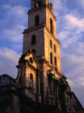 Tower of Iglesia Y Monasterio De San Francisco De Asis, Havana, Cuba Photographic Print by Rick Gerharter