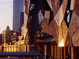 Exterior Detail of Federation Square, Melbourne, Australia Photographic Print by John Banagan