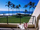 Hotel Room View of Beach, Poipu, USA Photographic Print by Holger Leue