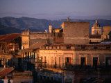 Buildings in City, Santiago De Cuba, Cuba Photographic Print by Rick Gerharter