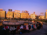 Fountain at Midan Tahrir (Liberation Square), Cairo, Egypt Photographic Print by Anders Blomqvist