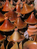 Traditional Tajine Pottery at Market, Essaouira, Essaouira, Morocco Photographic Print by Christopher Groenhout