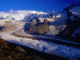 Gorner Glacier and Monte Rosa Massif, Valais, Switzerland Photographic Print by Gareth McCormack